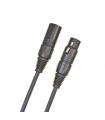 D'Addario Classic Series XLR Microphone Cable, 10 feet PW-CMIC-10