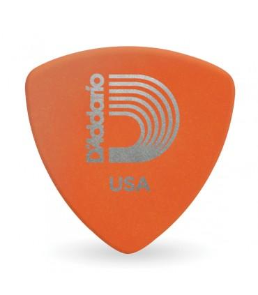 D'addario Duralin Guitar Picks, Light, 25 Pack, Wide Shape 2dor2-25
