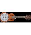Gretsch G9112 Resonator-Ukulele with Gig Bag Honey Mahogany Stain 273-2035-321
