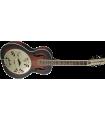 Gretsch G9241 Alligator Biscuit Round-Neck Acoustic / Electric Resonator Guitar 2-Color Sunburst 271-8015-503