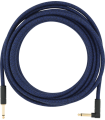 Fender Angled Festival Instrument Cable, Blue Blue Dream 099-0918-073