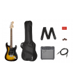 Squier Affinity Series Stratocaster HSS Pack Brown Sunburst 037-1824-032