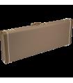 Fender G&G Deluxe Hardshell Cases - Jaguar© - Jazzmaster© - Toronado© - Jagmaster? Brown with Gold Plush Interior 099-6118-422