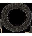 Fender Deluxe Series Instrument Cable, Tweed Black Tweed 099-0820-077