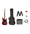 Squier Affinity Series Stratocaster HSS Pack Candy Apple Red 037-1824-009