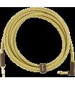 Fender Deluxe Series Instrument Cable, Tweed Tweed 099-0820-091
