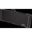 Fender G&G Deluxe Hardshell Cases - Jaguar© - Jazzmaster© - Toronado© - Jagmaster? Black with Orange Plush Interior 099-6112-406