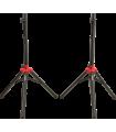 Fender Compact Speaker Stands w/Bag Black 069-9018-000