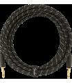 Fender Deluxe Series Instrument Cable, Tweed Black Tweed 099-0820-080