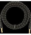 Fender Deluxe Series Instrument Cable, Tweed Black Tweed 099-0820-083