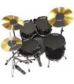Vic Firth prepack w/ 10?, 12?, 14?(2), 18, hi-hat and cymbal (2)