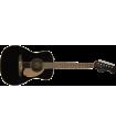 Fender Malibu Player Acoustic Electric Guitar 0970722006 Jetty Black