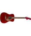 Fender Malibu Player Acoustic Electric Guitar 0970722009 Candy Apple Red