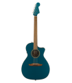 Fender Newporter Classic Acoustic Electric Guitar Cosmic Turquoise 0970943299