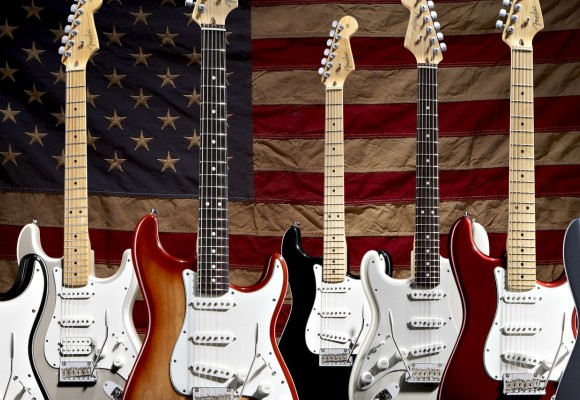 About Fender Electric Guitars