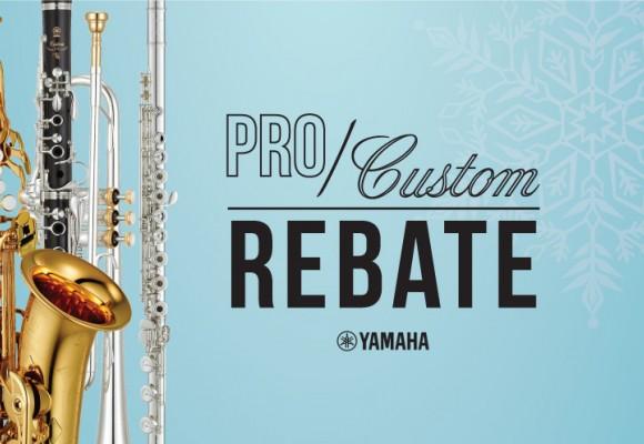 Yamaha Pro/Custom Rebate