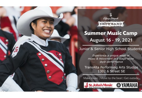 Calgary Stampede Showband Summer Music Camp